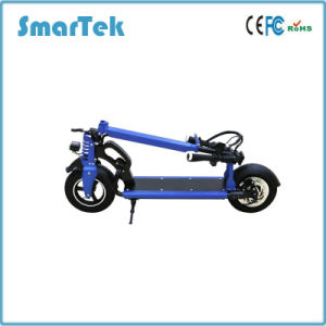 Smartek 10 Inch E-Bike Folding Smart Scooter Standing Smart Electric Scooter with USB Port and LED Light for Outdoor S-005-4 pictures & photos