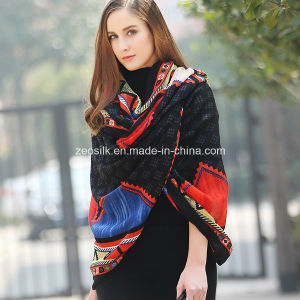 Fashion Women Large Long Wool Scarf or Cashmere Scarf Shawl pictures & photos