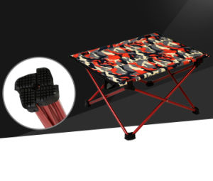 Mimi Super Light Aluminum Camouflage Folding Picnic Table (MW12019S) pictures & photos
