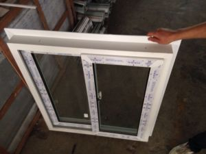 88mm UPVC Wall Cover Frame for Sliding Window pictures & photos