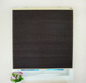 Manufacturer Custom Honeycomb Pleated Double Layers Blinds Sunshade pictures & photos