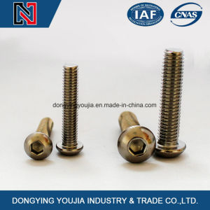 ISO7380 Heaxagon Socket Round Head Machine Screws pictures & photos