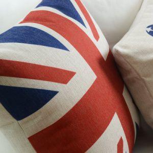 Very Cheap Cotton Linen Decorative Lumbar Pillows pictures & photos