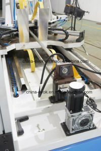Woodworing High Frequency Frame Corner Joint Machine Tc-868 pictures & photos