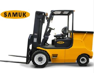 4-5ton Samuk Battery Electric Forklift pictures & photos
