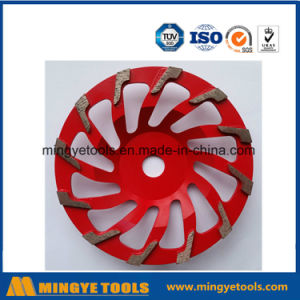 Red Diamond Cup Wheel for Grinding Stone / Marble pictures & photos