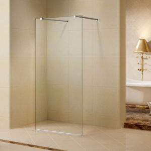 Stainless Steel Walk-in Shower Door with 8mm Tempered Clear Glass pictures & photos