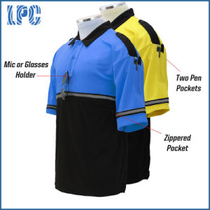 Custom Electrician Journalist Bike Patrol Work Polo T Shirt pictures & photos