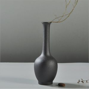 Ceramic Black Vase Household Adornment Furnishing Articles pictures & photos