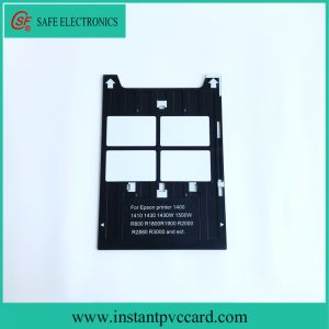 Plastic PVC Card Tray for Epson 1400 Inkjet Printers pictures & photos