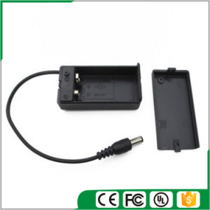 9V Battery Holder with Male DC Plug (5.5mmx2.1mm) pictures & photos
