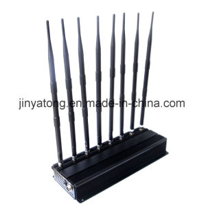 Adjustable 8 Antennas Cell Phone 2.4G 5.8g/5.2g WiFi Signal Blocker pictures & photos