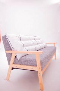 White Color Home Lumbar Body Pillow pictures & photos