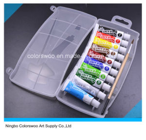 10*10ml Non Totic Gouache Color Paint in Aluminum Tube pictures & photos