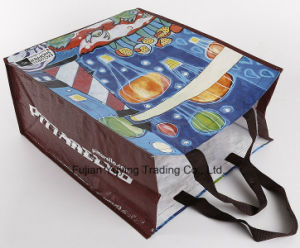 PP Fabric Handle Bag with Customized Printing (YYNWB067) pictures & photos