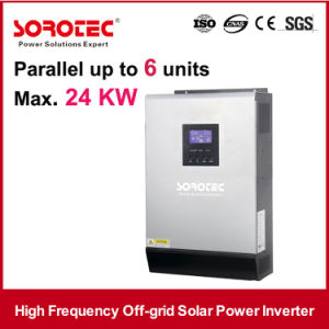 5KVA 48VDC Pure Sine Wave Inverter UK with 60A PWM Solar Charger pictures & photos