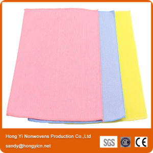 Bamboo Fiber Nonwoven Fabric Stitch Bond Cleaning Cloth