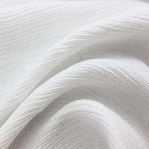 Shining Crinkle Crepe Fabric for Fashion Dress pictures & photos