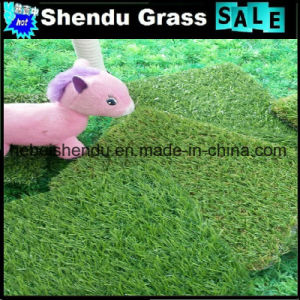 Artificial Green Grass 20mm with 18900tuft Density pictures & photos