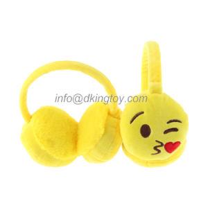 Wholesale Stuffed Plush Toy Custom Emoji Earmuff pictures & photos