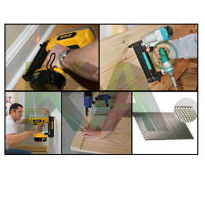 (NT65) Pneumatic Angle Finishing Nailer for Packaging, Decoration pictures & photos