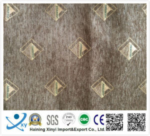 Different Types of Fabric Printing, Jacquard Knitting Chenille Upholstery Fabric, Polyester Jacquard Curtain Fabric pictures & photos
