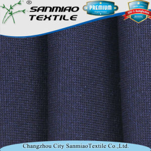 Spandex Indigo Knitted Denim Rib Fabric for Cloth