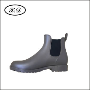 Colorful Rain PVC Boots with Elastic pictures & photos