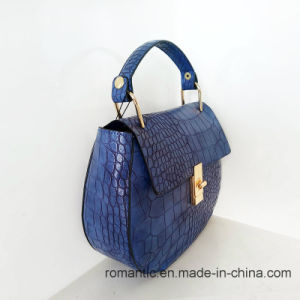 Promotional Fashion Designer Women Crocodile PU Handbags (NMDK-042904) pictures & photos