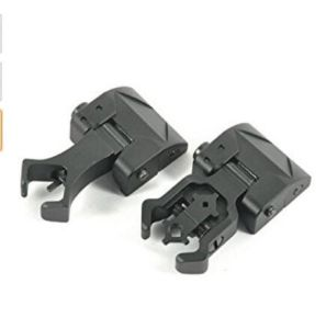 Ar Tactical Flip up Front and Rear Iron Sights Set for Picatinny Rails pictures & photos