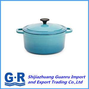 Colorful Enamel Cast Iron Non-Stick Cooking Pot pictures & photos