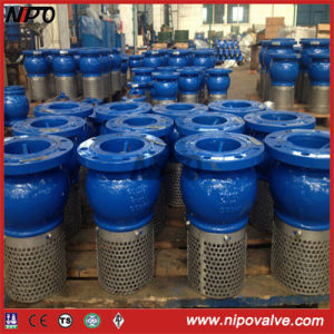 Flanged Cast Iron Ductile Iron Foot Valve Bottom Valve pictures & photos