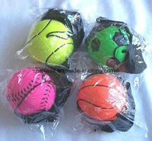 Colorful Wrist Band Rubber Ball pictures & photos