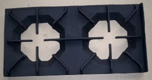 Cast Iron LPG Natural Gas Burner Double Head Stand pictures & photos