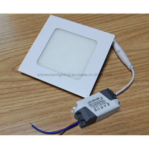 Square 24W Slim LED Panel Light for Embedded Mounted