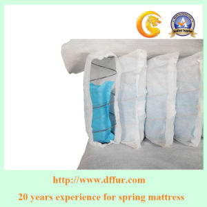 Coil in Coil Pocket Spring Unit for Bedroom Mattress pictures & photos