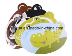 Full Color Cartoon Printing PVC Coaster pictures & photos