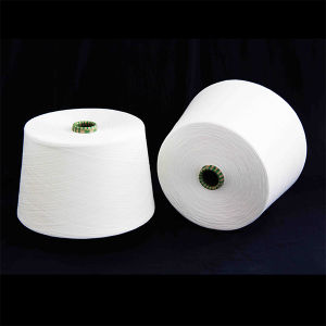40/1 100% Polyester Spun Yarn for Knitting and Weaving pictures & photos