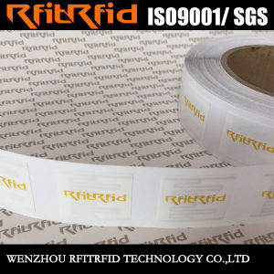 Customized High Terperature Temper Proof RFID Sticker for Truck / Vehicle pictures & photos