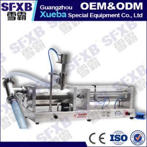 Sfgy-1000 Full Pneumatic Semi Automatic Liquid Filling Machine pictures & photos
