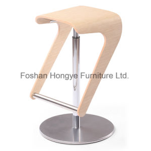 Professional Factory Modern Swivel Lift Bar Chair (D85) pictures & photos
