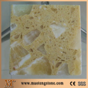 Onyx Jade Yellow Artificial Stone Man Made Marble pictures & photos