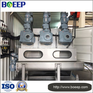 Mobile Containerized Integrated Sludge Dewatering System in Wastewater Treatment pictures & photos