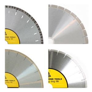 Diamond Laser Welded Circular Saw Blades for Cutting Marble (HSWM-H) pictures & photos