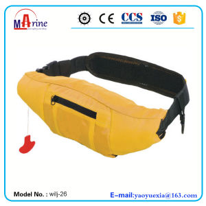 Inflatable Life Jacket Life Vest Waist Air Bag Automatic pictures & photos