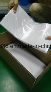 Ultra Thin Silicone Conductive Pad 8W for Driver No MOQ RoHS Heatsink Insulator Pad Gap ISO Factory pictures & photos