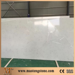 Carrara White Quartz Stone Slab pictures & photos