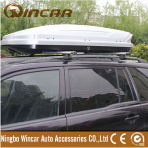 Win36 Silver Roof Box Cargo Carrier Box with Aluminum Oil on Face
