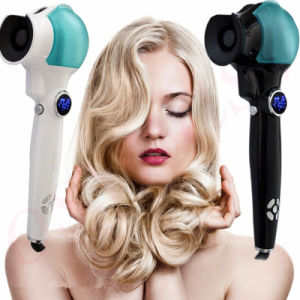 Titanium Auto Hair Curler with Steam Spray Hair Care Styling Tools Ceramic Wave Hair Roller Magic Curling Iron Hair Styler pictures & photos