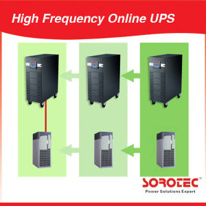High Frequency Online UPS_Ldarge LCD Isplay UPS_Uninterrupteable Power Supply 10k/15k/20kVA pictures & photos